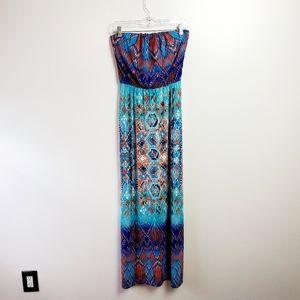 Bisou Bisou size 2 strapless dress